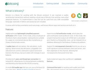 https://bitcoinj.github.io/